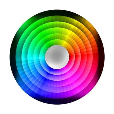 koło kolorysty
