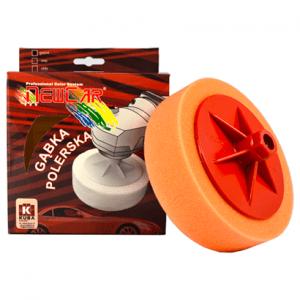 Gąbka Polerska M14 150x50 pomarańczowa