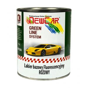 Fluorescencyjny lakier bazowy różowy NewCar 1L