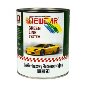 Fluorescencyjny lakier bazowy niebieski NewCar 1L